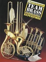Team Brass Repertoire: Brass Band Instrumentsavailable at Pencerdd Music Store Penarth