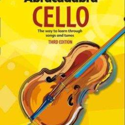 Abracadabra Cello Pupils book available at Pencerdd Music penarth near Cardiff