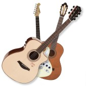 Guitars available at Penarth Music Centre
