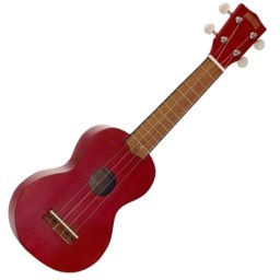 Mahalo Soprano Ukulele Red available at Penarth Music Centre