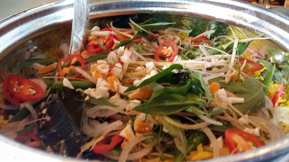 Nasi Ulam by Chef Sherson Lian at Kitchen Mafia