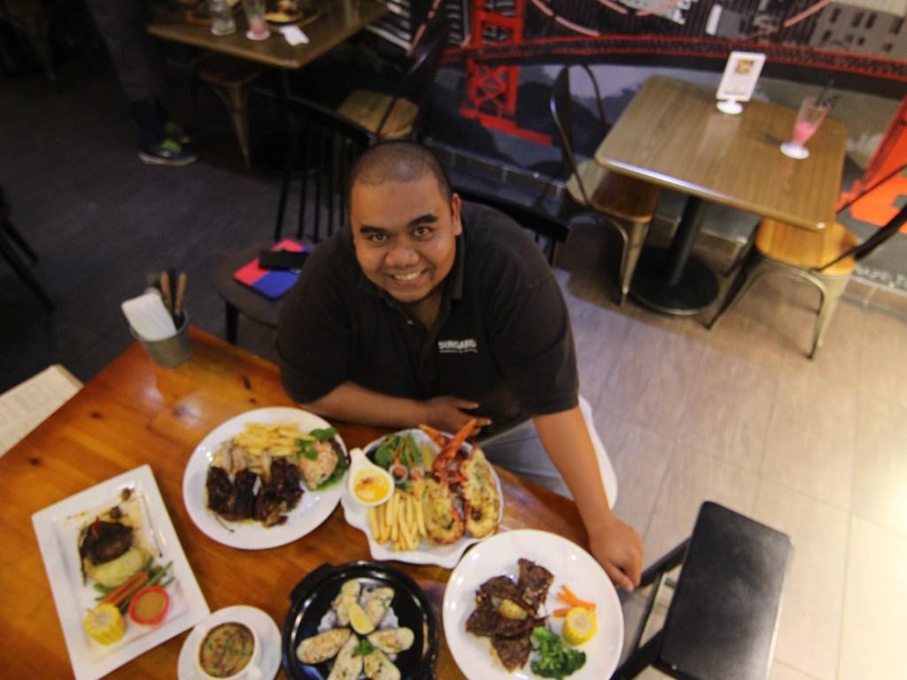 Moon's Kitchen Subang Best Taste Of Western, US Boston Lobster and True Blood Wagyu