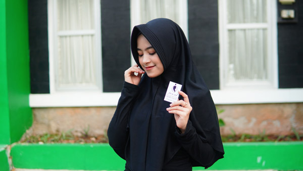 Grosir Hijab Klaten Jawa tengah, usaha mikro