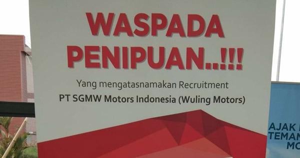 Cara Melamar Pekerjaan ke PT SGMW Motor Indonesia