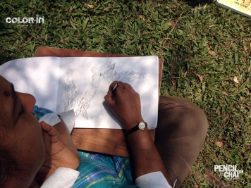 #pencilandchai 40th drawing session 11 A Free hand drawing-art session - pencilandchai 40th drawing session 11 - A Free hand drawing-art session
