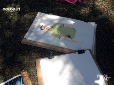 #pencilandchai 40th drawing session 17 A glimpse of Poster color painting and quick sketches session |PAC - pencilandchai 40th drawing session 17 - A glimpse of Poster color painting and quick sketches session |PAC