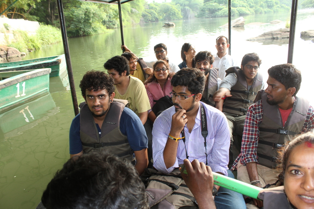 We also experienced and explored Bird Sanctuary in boat! Oh. What a joy :) Celebration of a milestone | PAC at Srirangapattana - IMG 0110 - Celebration of a milestone | PAC at Srirangapattana