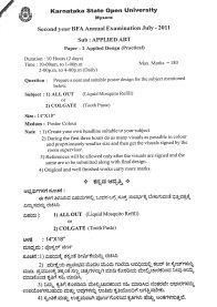 Question-paper_Applied-Art_2011_3 Question Paper Collection 2011 - 2nd year BFA  - Question paper Applied Art 2011 3 - Question Paper Collection 2011 – 2nd year BFA