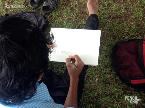 I can't stop sketching :P portrait drawing - Potrait Drawing Fundamentals PencilAndChai ColorIn8 - Live portrait drawing study