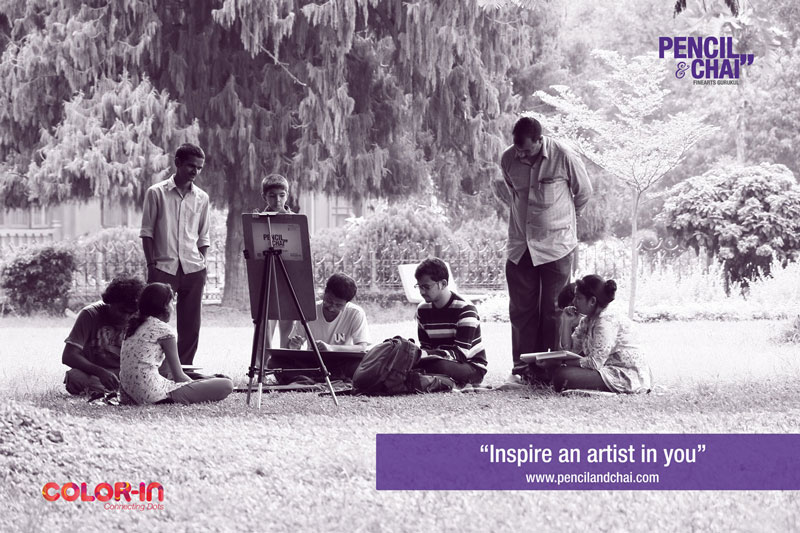 Fine arts institutes in bangalore pencil drawing - PAC teaser FineartsGurukul - Pencil drawing tips and Tricks