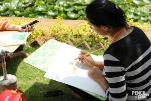 - Hues of Watercolor Watercolor workshops in Bangalore Coloring India0052 - Hues of Watercolor_Watercolor workshops in Bangalore_Coloring India0052