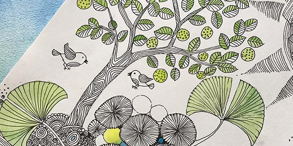 Zentangle-Classes-in-Bangalore creative painting - Zentangle Classes in Bangalore - Creative Painting Classes by Pencil And Chai