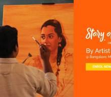 Oil Painting Workshop by S.Elayaraja – Story of Oil Color 4 [object object] - Story of Oil Color 4 Oil Painting workshop in Bangalore 220x192 - Weekend Art Classes in Bangalore : Pencil & Chai Fine Arts Gurukul