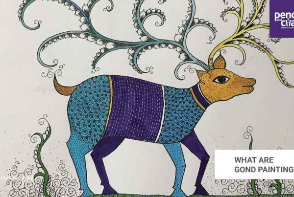 What-are-Gond-painting_Art-work-by-Kavitha gond paintings - What are Gond painting Art work by Kavitha - GOND PAINTINGS