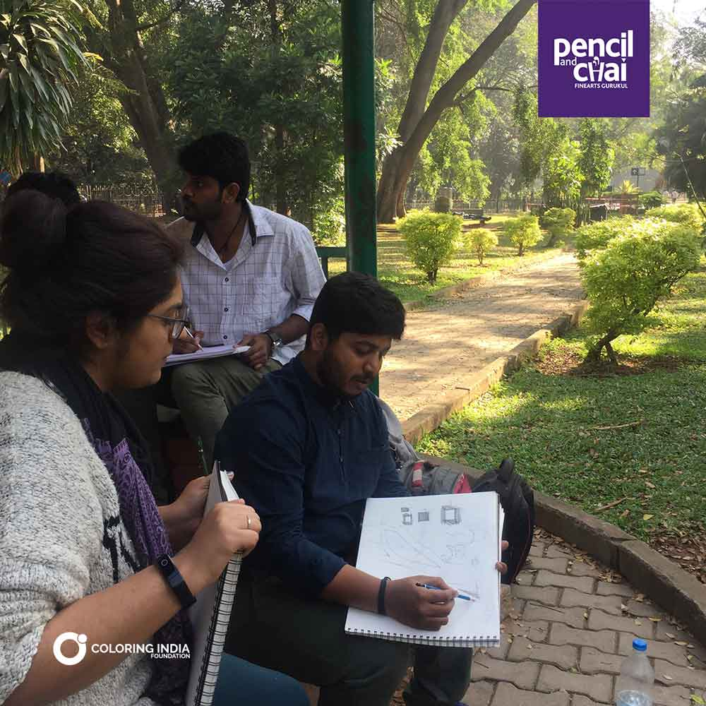 sketching demo - Join Sketching Foundation Classes for Beginners by Pencil And Chai - Attend a Sketching Demo Session of Pencil And Chai