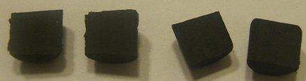 The Inside of the Dixon Ticonderoga Eraser