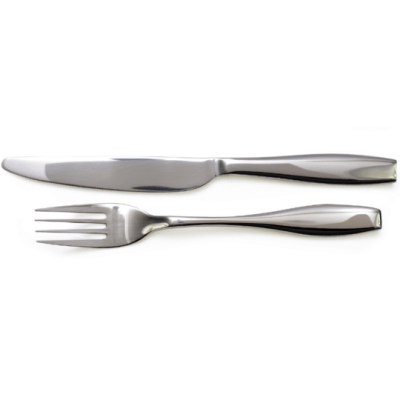 Heavyweight Tableware (Set of Fork and Knife)