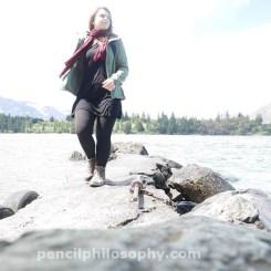 New Zealand Travel Selfie