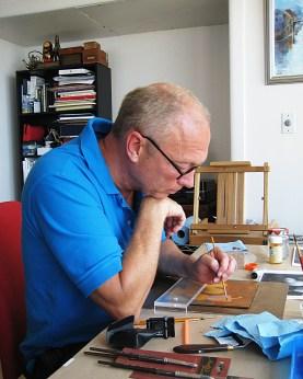 Tom painting