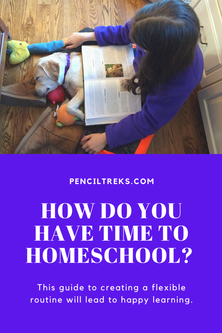 Finding the time to homeschool