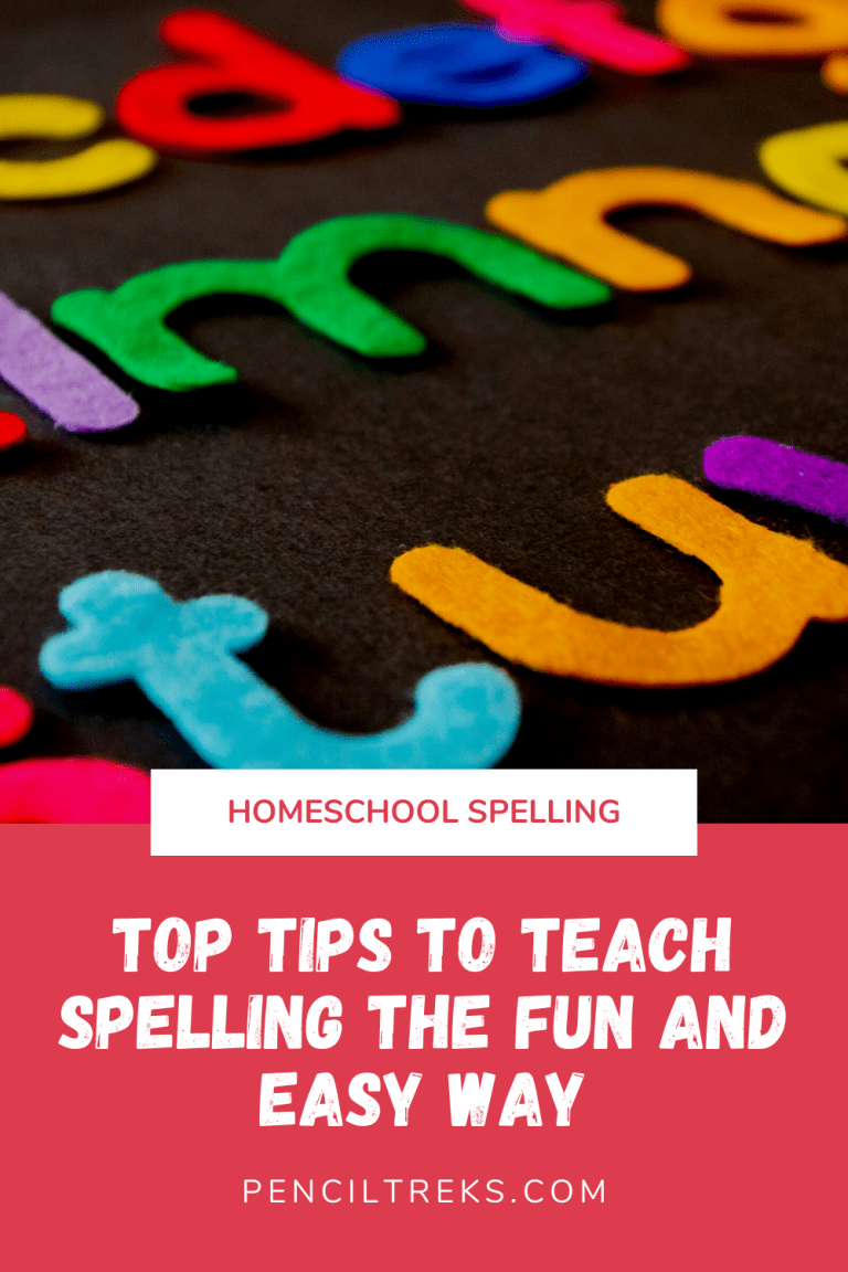 How to teach homeschool spelling