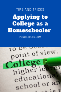 How to apply to college as a homeschooler