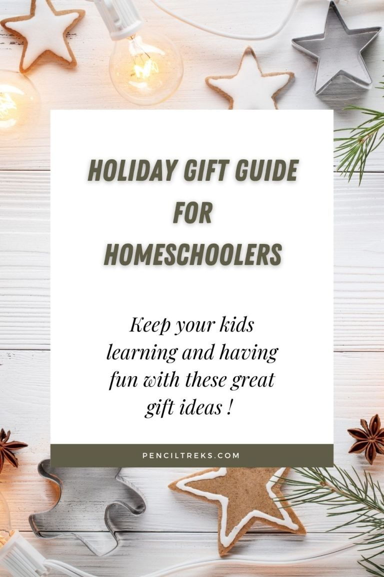 This Holiday Gift Guide for homeschoolers is filled with educational gift ideas for all ages!