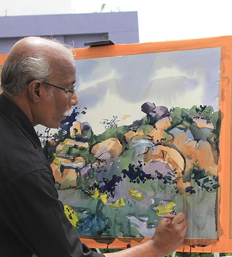 painting-demos-by-legend-artists-of-India_pencil-Tuts
