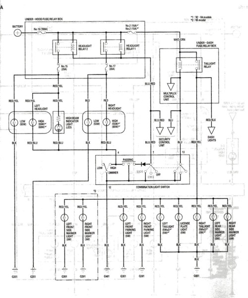 small resolution of acura rsx wiring diagram