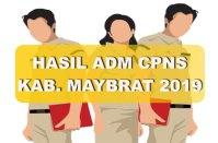 Hasil Seleksi Administrasi CPNS Kabupaten Maybrat 2019