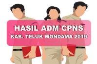 Hasil Seleksi Administrasi CPNS Kabupaten Teluk Wondama 2019