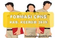 Hasil Seleksi Administrasi CPNS Kabupaten Keerom 2019