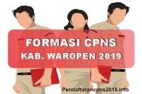 Hasil Seleksi Administrasi CPNS Kabupaten Waropen 2019