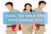Hasil Tes SKD dan SKB CPNS Kabupaten Puncak 2019