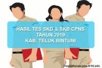 Hasil Tes SKD dan SKB CPNS Kabupaten Teluk Bintuni 2019