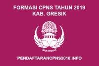 Formasi CPNS Kabupaten Gresik Tahun 2019