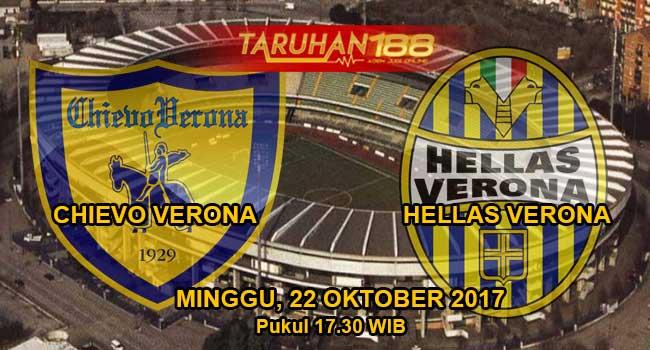 Prediksi Bola Chievo vs Hellas verona 22 Oktober 2017