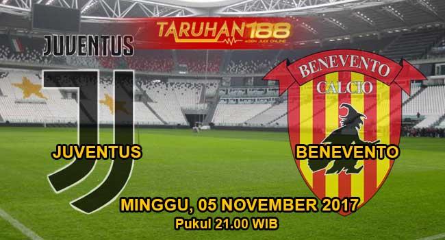 Prediksi Bola Juventus vs Benevento 05 November 2017