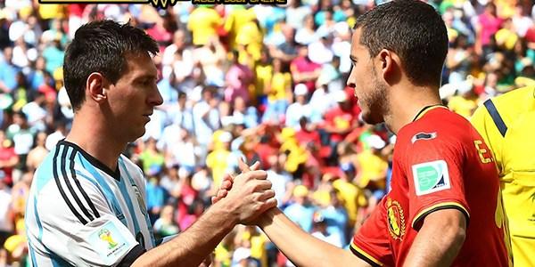 Barcelona Diminta Messi Untuk Datangkan Hazard ke Camp Nou