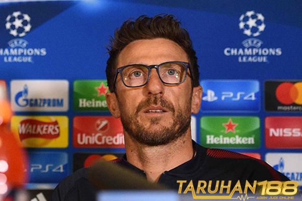Di Francesco Sebut Keinginan Menang Atletico Lebih Besar dari Roma