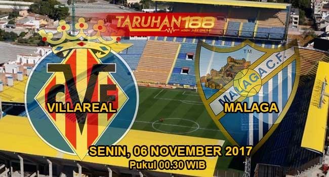 Prediksi Bola Villareal vs Malaga 05 November 2017