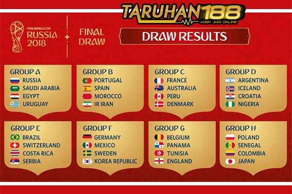 Ini Hasil Drawing Untuk 32 Negara Peserta Piala Dunia 2018