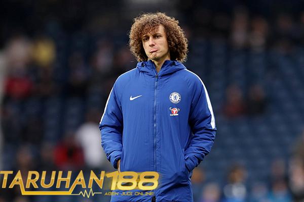 Komentar Conte Mengenai Rumor David Luiz yang Ingin Hengkang