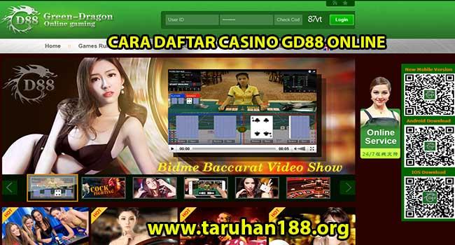 Cara Daftar Casino GD88 Online - CARA DAFTAR CASINO GD88 ONLINE