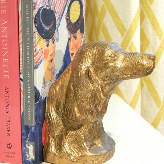 Retriever Bookend in my home office.