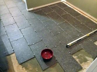 Spacing the tiles