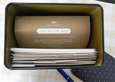 Recipe Box 6