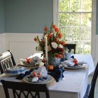 Set an Elegant Autumn Table