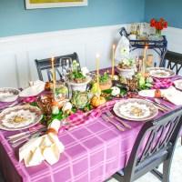 How to Set an Autumn Harvest Table