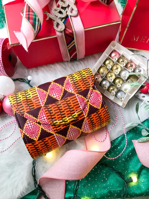 This colorful and bold clutch from Expedition Subsahara makes a wonderful gift for the stylish lady in your life.